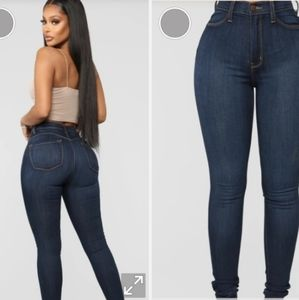 Fashion Nova Jeans Dark Denim